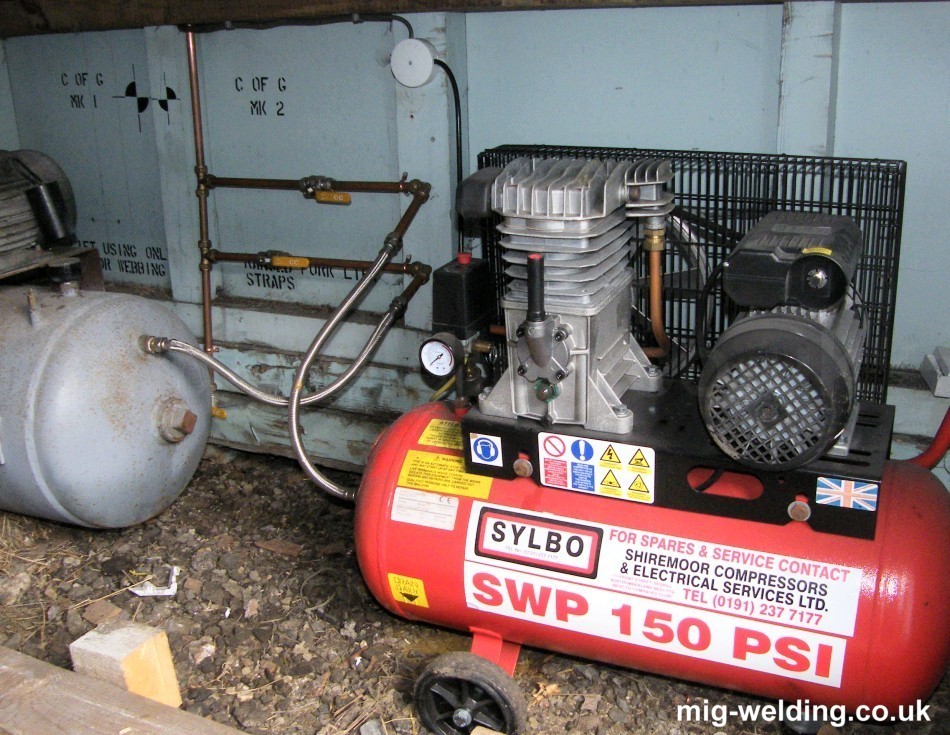 How To Use An Air Compressor >> Reducing Water In A Diy Compressed Air Supply