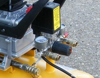 Typical DIY compressor regulator