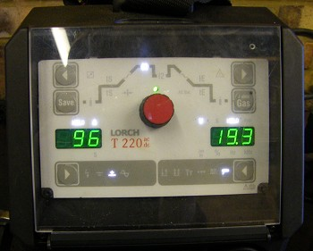 Lorch T220 Control Panel