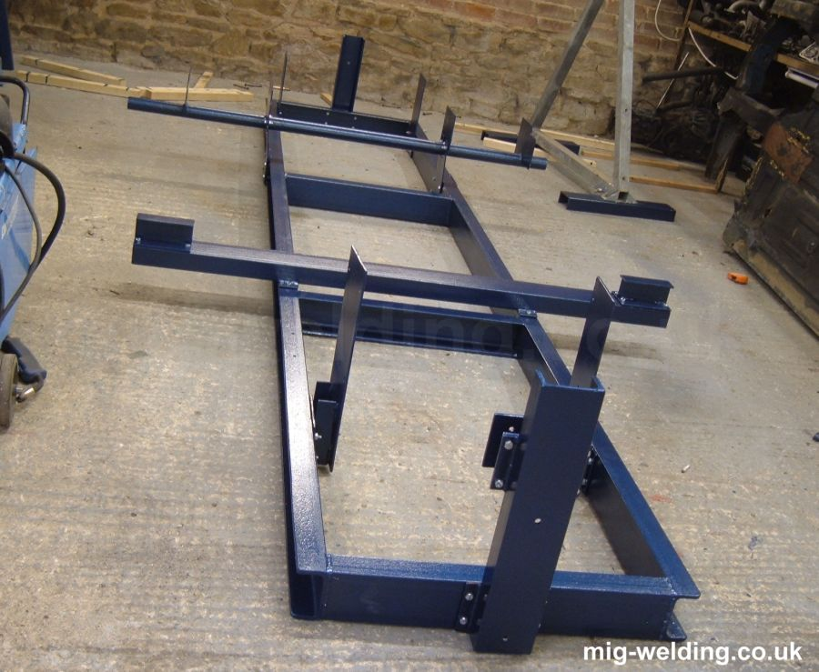 Making A Chassis Frame Jig And Body Roller