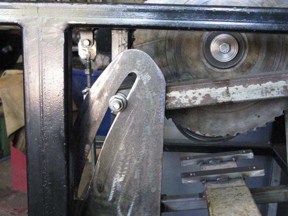 8. Depth adjustment locking plate with nut IMG_0778.jpg