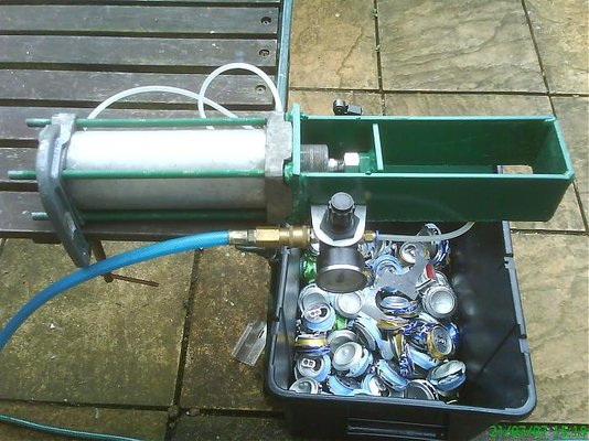Pneumatic Can Crusher Too Much Time Mig Welding Forum