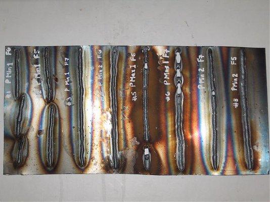 Test welds Clarke 135TE - feedback please   MIG Welding Forum