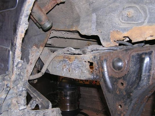 Nissan Patrol chassis repair   MIG Welding Forum