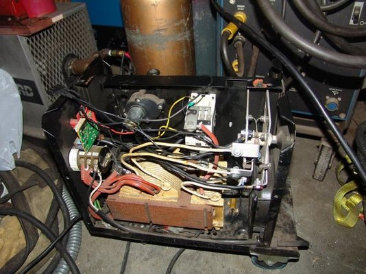 reversing output polarity of Snapmig 130 Turbo or will it