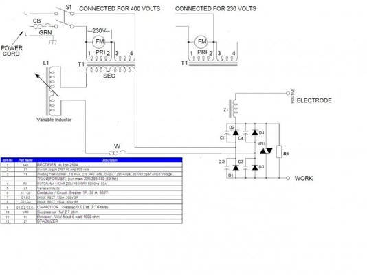arc welding transformer diagram  | 482 x 304