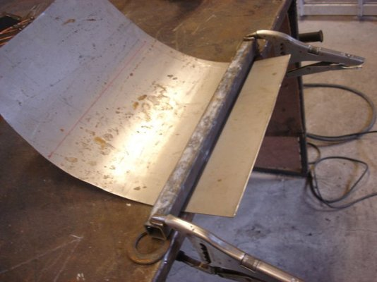 Making Curves In Sheet Metal On The Cheap Mig Welding Forum