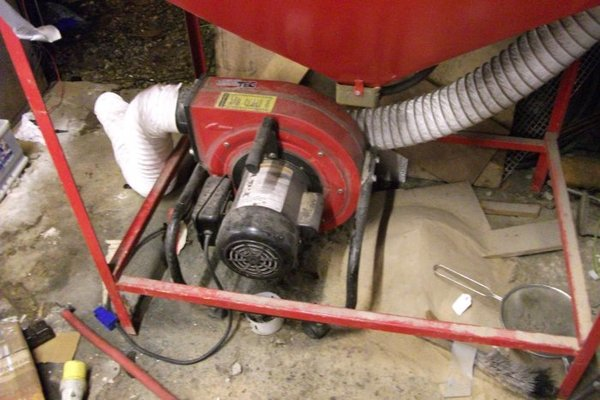 Dust extractor recommendations for Blast Cabinet | MIG Welding Forum