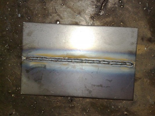 Heres Some Pics Of A Butt Joint Mig Welding Forum