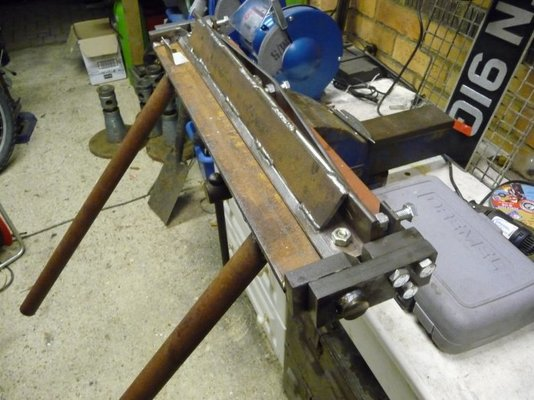 Home Made Sheet Metal Bender Mig Welding Forum