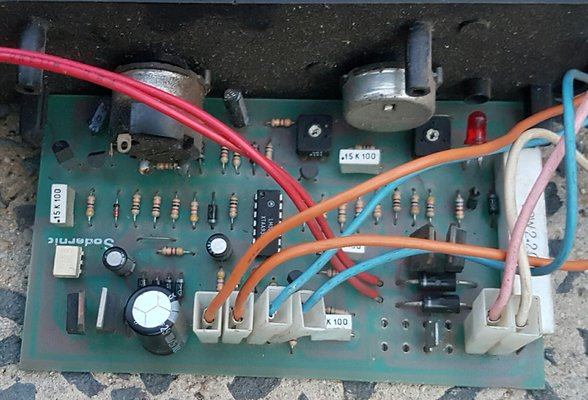 on welding wiring a circuit