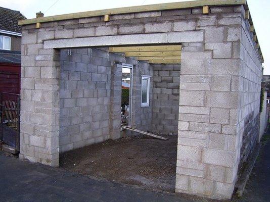 Concrete block garage plans uk ppi blog for Garage block