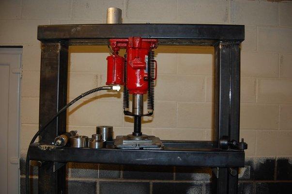 Hydraulic Press Mig Welding Forum