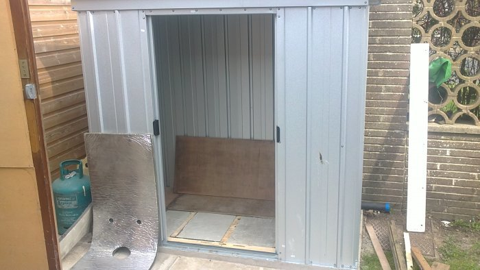 My Compressor Shed Build Mig Welding Forum