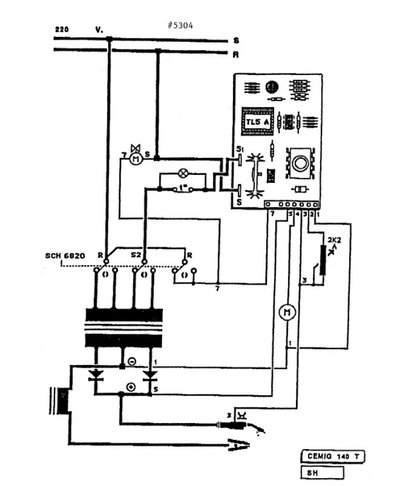 chicago electric flux mig 140t no fire | mig welding forum power arc ignition wiring diagram #9