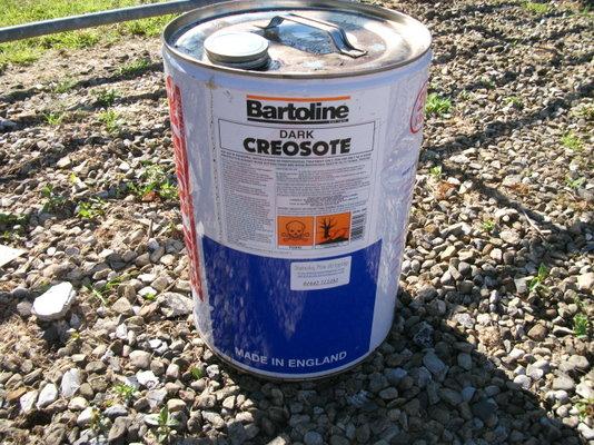 Creosote oil (coal tar)