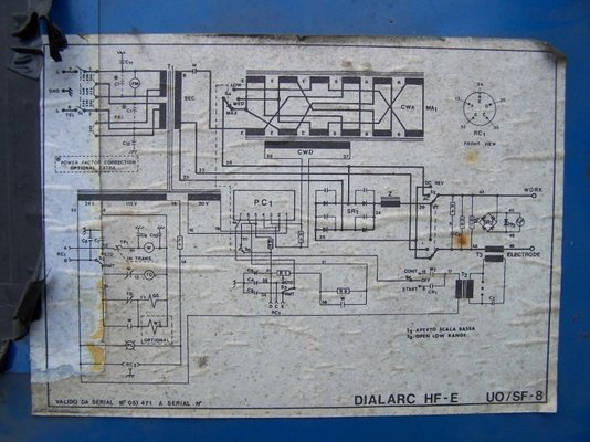 Miller Dialarc Hf E 2 Phase Or 3 Phase Mig Welding Forum