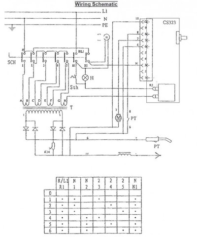 welder wiring schematic sealey 170 1 voltage control switch mig welding forum simple welder wiring schematic #1