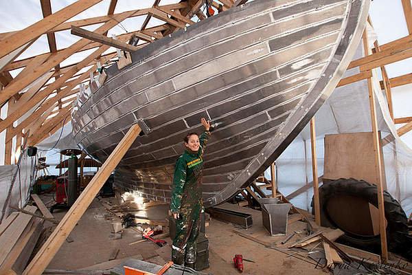Alloy Boatbuilding Sailing The Farm Project Mig
