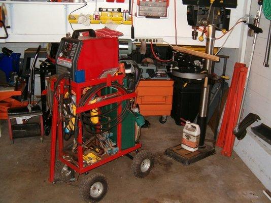 Welding Cart Mig Welding Forum