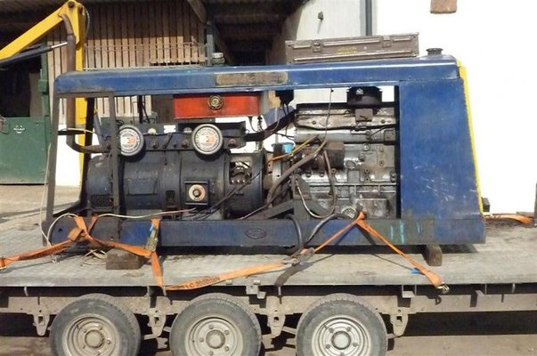 Engine Driven Welder p6 Driven Welder at Last