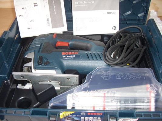 Bosch gst 150 bce professional test
