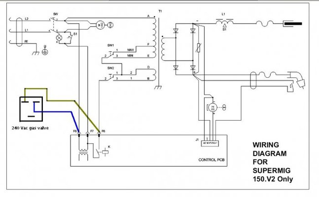 f gas welder diagram mig welder diagram