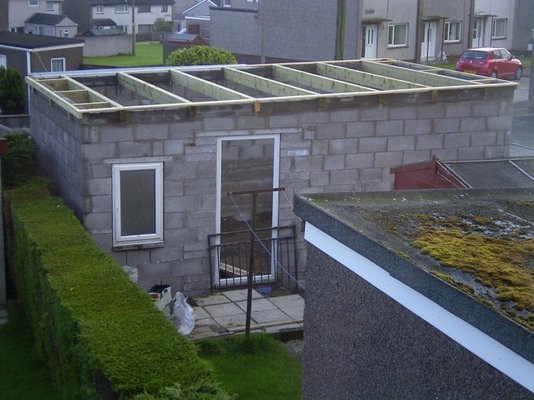 Workshop roof help mig welding forum for How many blocks can build 2 bedroom flat