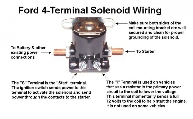 solenoid or relay | mig welding forum cole hersee 4 post solenoid wiring diagram