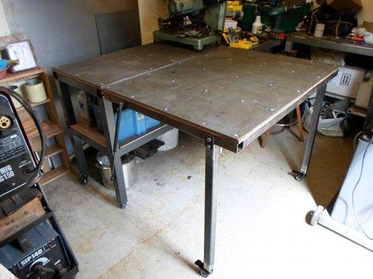 My Welding Bench Build Mig Welding Forum