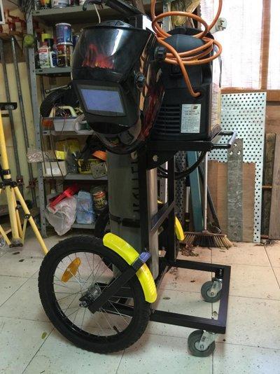 My Cycling Welding Cart Mig Welding Forum