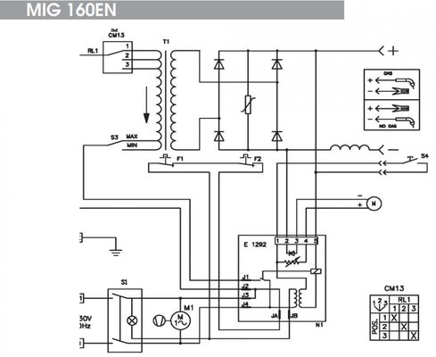 55626 5eaa5deef4ee44221b20ba16ffd56fd2 clarke 190t wire feed modifications mig welding forum Welder Circuit Diagram at n-0.co