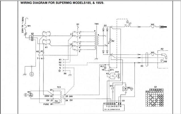 sealy supermig 185 pcb repair help