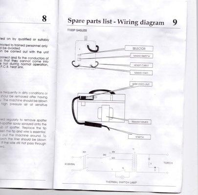 Arc Welder Diagram
