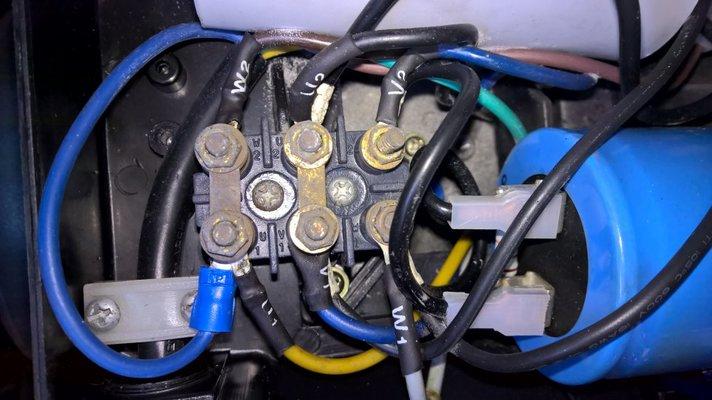 clarke se16c150 pump rebuild tips page 4 mig welding forum capacitor start single phase motor wiring please check my motor wiring diagram