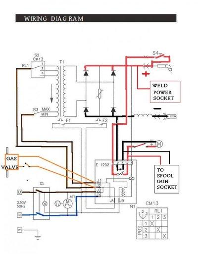 welder schematic wiring diagram spool gun    wiring    mig welding forum  spool gun    wiring    mig welding forum