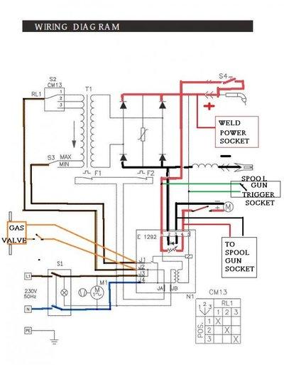 spool gun wiring mig welding forum