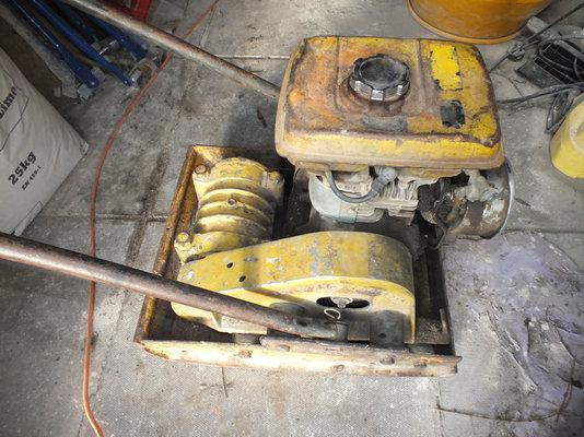 Wacker Plate Engine Mountings   MIG Welding Forum