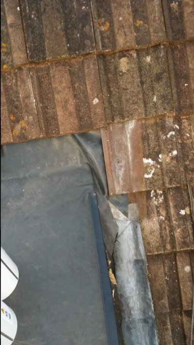 Epdm flat roof join pitched roof. | MIG Welding Forum