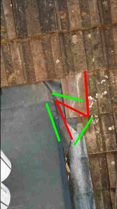 Epdm Flat Roof Join Pitched Roof Mig Welding Forum