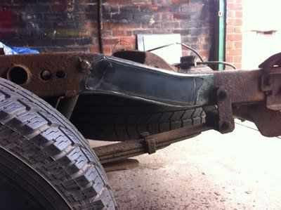 Nissan navara rear chassis repair | MIG Welding Forum