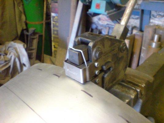 Metal Shrinker Stretcher Anyone Used One Mig Welding Forum