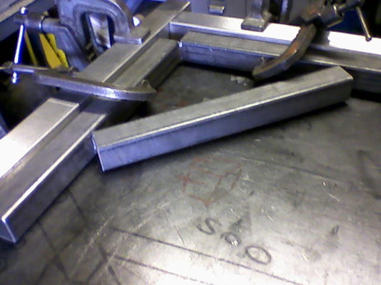 Tacking And Getting A Frame Work Square Mig