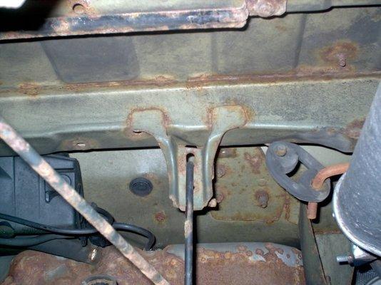 Surface rust under car | MIG Welding Forum