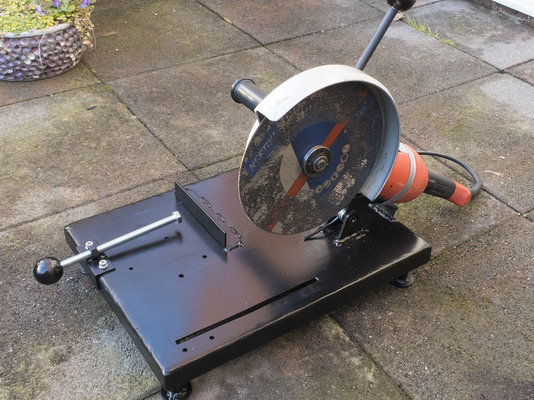 Another Homemade Angle Grinder Chop Saw Mig Welding Forum