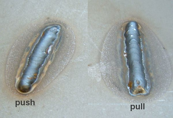 Push Vs Pull Mig Welding Forum