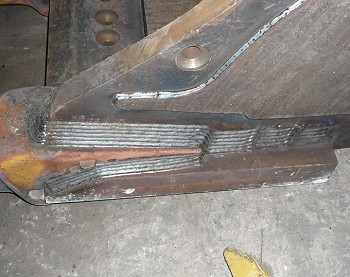 Multiple pass weld