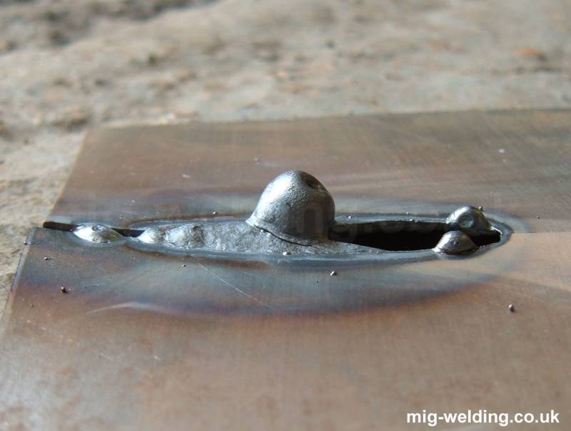 Mig Welding Technique For Thin Metal