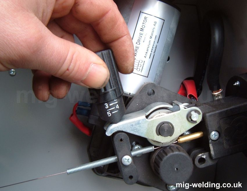 Installing Mig Wire And Setting Wire Feed Tension